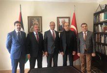 Photo of Gelecek Partisi Filistin Büyükelçiliğini ziyaret etti