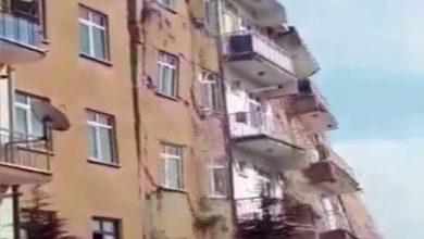 Photo of Elazığ'da deprem sonrası 6 katlı bina yıkıldı!