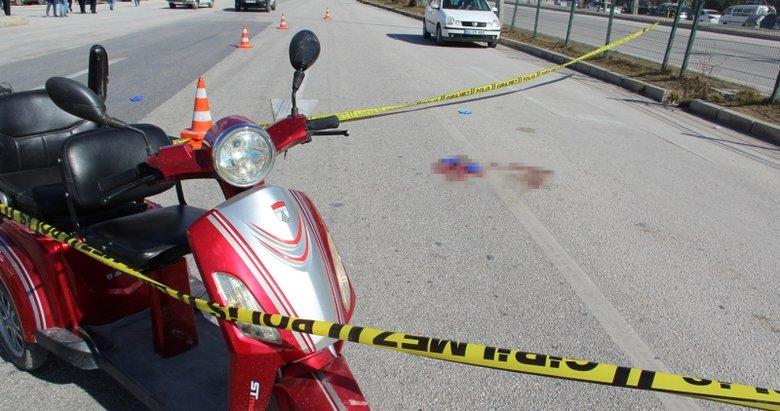 Photo of Afyonkarahisar'da korkunç kaza! Elektrikli bisiklet sürücüsü öldü