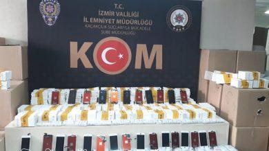 Photo of İzmir Konak'ta operasyon! 4 bin 48 gümrük kaçağı cep telefonu aksesuarı ele geçirildi!