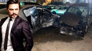 Photo of Ahmet Kural ölümden döndü! Zincirleme trafik kazası geçirdi