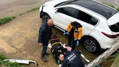 Photo of Muğla Fethiye'de otomobil dere yatağına düştü!