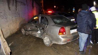 Photo of Kütahya'da trafik kazası! 3 kişi yaralandı