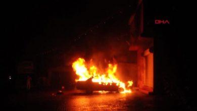 Photo of Manisa Turgutlu'da park halindeki otomobil yandı!