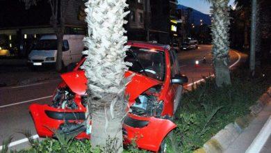 Photo of İzmir Ödemiş'te otomobil kazası!
