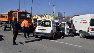 Photo of Kütahya'da trafik kazası!